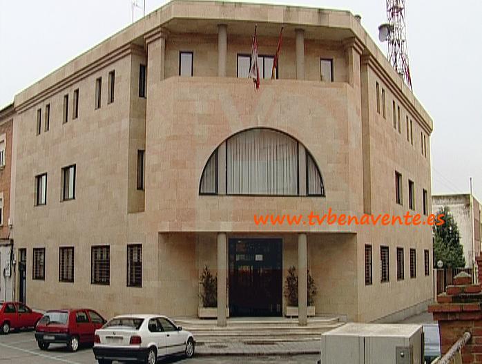 ayuntamiento de benavente y representantes de la