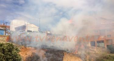 Incendio en Benavente provocado por el escape de una bombona de gas