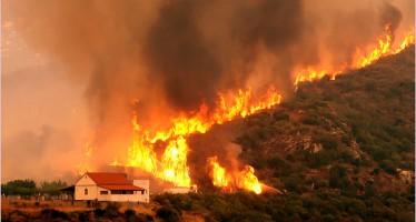 Riesgo meteorológico de incendios forestales los días 6 y 7 de septiembre