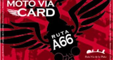 MOTO VIA CARD, NUEVO PRODUCTO TURÍSTICO DE LA RUTA VÍA DE LA PLATA