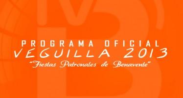 PROGRAMA DE FIESTAS · VEGUILLA 2013