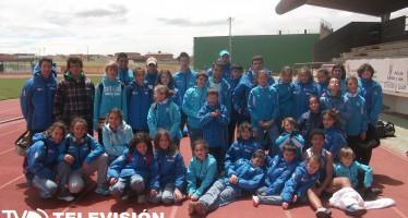 Club Benavente Atletismo compitieron en Toro en la última Jornada de Pista de Juegos Escolares