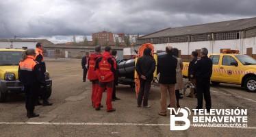 CHALECOS Y CARPA PARA PROTECCIÓN CIVIL DE BENAVENTE