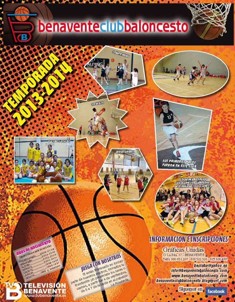 inscripciones baloncesto