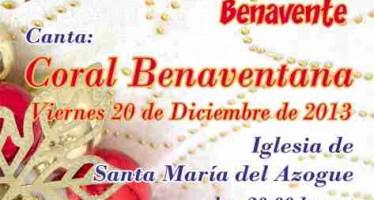 CONCIERTO DE NAVIDAD DE LA CORAL BENAVENTANA