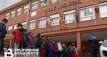CLASES PRÁCTICAS DE SEGURIDAD VIAL EN EL COLEGIO LAS ERAS