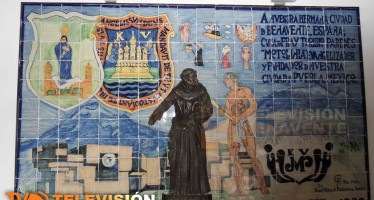 LUCE DE NUEVO EL MURAL CONMEMORATIVO DEL HERMANAMIENTO ENTRE BENAVENTE Y PUEBLA (MÉJICO).