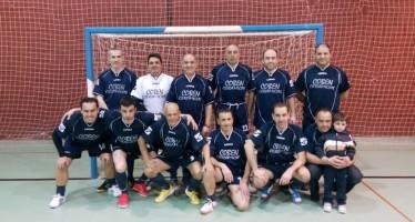 Coben Cerámicas campeón de la Liga de Veteranos de fútbol sala.