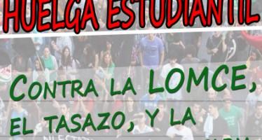 HUELGA DE ESTUDIANTES LOS DÍAS 26 Y 27 DE MARZO