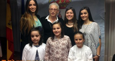 Representantes de la Juventud e Infancia de Benavente 2014