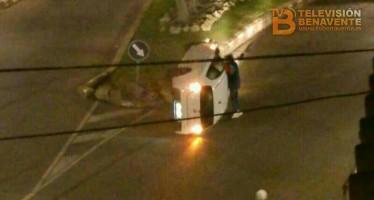 """(AMPLIACIÓN) ACCIDENTE EN EL ENTORNO DE LA ROTONDA DE """"LA FUENTE"""""""