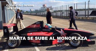 La benaventana Marta Ariza debuta con un fórmula BMW.
