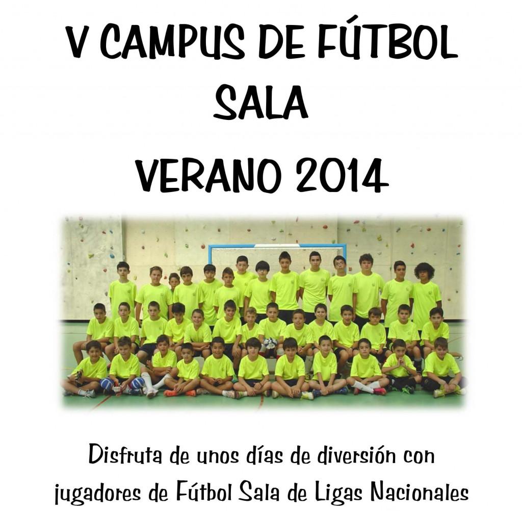 Campus Futbol Sala Benavente Portada