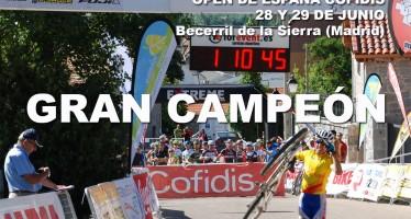 Sixto Vaquero campeón del Open de España Cofidís.