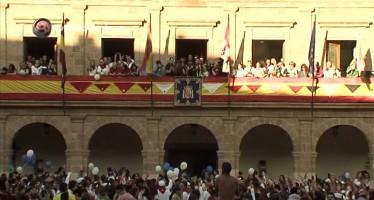VIDEO: INAUGURACIÓN FIESTAS DEL TORO ENMAROMADO 2014
