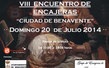 """VIII ENCUENTRO DE ENCAJERAS """"CIUDAD DE BENAVENTE"""""""