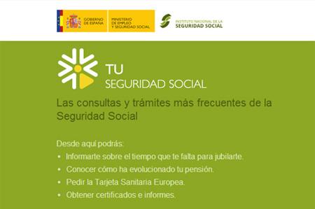 La seguridad social pone en marcha una oficina virtual for Oficinas de la seguridad social en granada