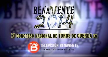 CONGRESO DE TOROS DE CUERDA 2014 EN TELEVISIÓN BENAVENTE