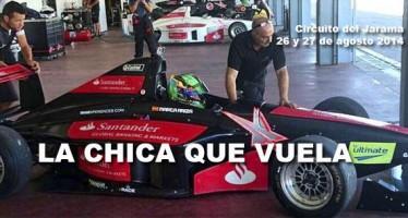 Marta Ariza realiza sus segundos test a bordo del Fórmula BMW.