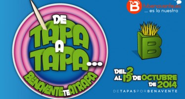 "DE TAPA A TAPA … BENAVENTE TE ATRAPA"", DEL 2 AL 19 DE OCTUBRE DE 2014."