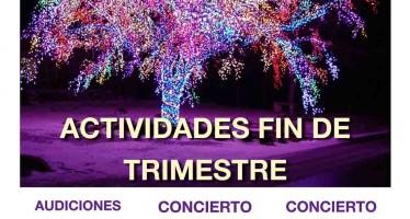 ACTIVIDADES FIN DE TRIMESTRE DE LA ESCUELA DE MÚSICA DUQUESA PIMENTEL
