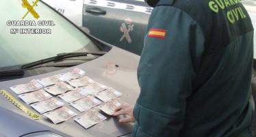 DETENIDOS SUPUESTOS AUTORES DELITO FALSIFICACIÓN DE MONEDA