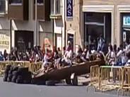 """VIDEO DEL ACCIDENTE DE """"AUTOS LOCOS"""" QUE HA PROVOCADO SU SUSPENSIÓN"""