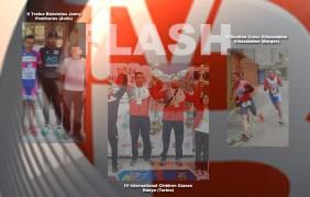 Rubén Iglesias, Fabián García y el coach Miguel Huerga de notable fin de semana