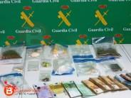 """LA GUARDIA CIVIL DESMANTELA DOS PUNTOS DE VENTA DE DROGA AL """"MENUDEO"""" EN BENAVENTE"""
