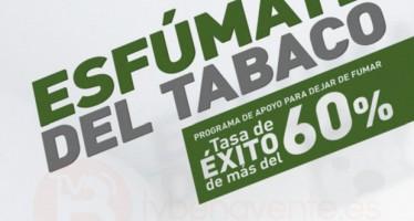 """La AECC de Benavente informa sobre la campaña: """"Esfúmate del Tabaco"""""""