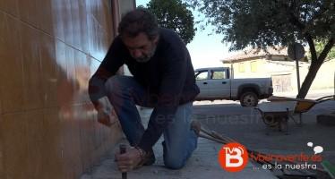 """Juan Dúo se pone """"manos a la obra"""" en el barrio Santa Clara"""