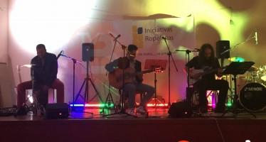 Gran actuación musical de Bruja Luna y Jimenos Band en Fuentes de Ropel