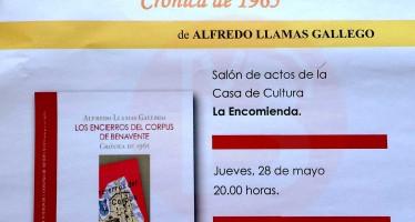 """Presentación del libro """"Los encierros del Corpus de Benavente, Crónica de 1965"""""""