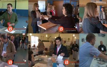 Todos los candidatos de Benavente ya han ejercido su derecho a voto