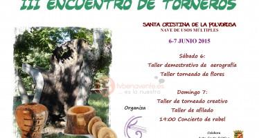 Tercer encuentro de torneros en Santa Cristina de la Polvorosa
