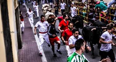 Fotografías de los encierros del viernes – Benavente 2015