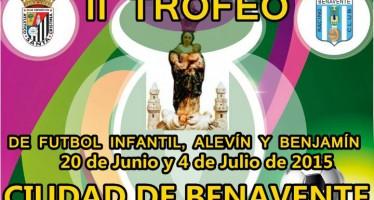 Ausente el C.D Benavente del II Trofeo Ciudad de Benavente infantil, alevín y benjamín