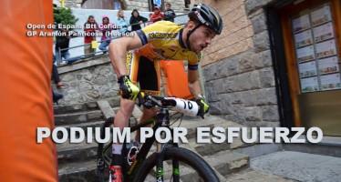 Álvaro Lobato (X-Sauce Fuji) sube al podium en la última prueba del Open de España Cofidis