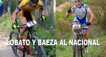 Álvaro Lobato y Héctor Baeza representación local en el Campeonato de España BTT