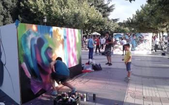 Fotografías del VII concurso de Graffiti y Arte Urbano · Benavente 2015