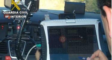 La DGT ha recaudado 25 millones de euros en controles de velocidad