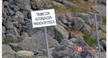 Tramo con autorización privada de pesca en la laguna del Prado de las Pavas de Benavente