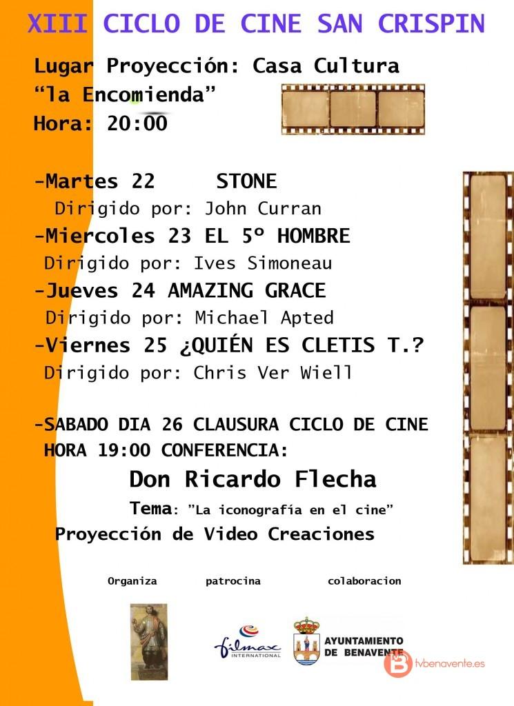 XIII CICLO DE CINE San Crispin 2015