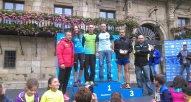 Los atletas benaventanos participaron el pasado domingo en el Campeonato de Castilla y León en Ruta