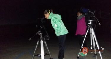 Los alumnos del colegio Virgen de la Vega se sumaron a la celebración de la semana mundial del espacio