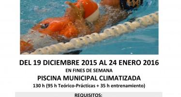 Curso de socorrista acuático en Benavente
