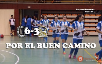 El Caja Rural femenino se mete en la liga en Ciudad Rodrigo