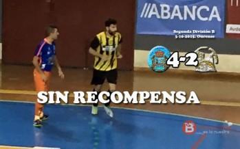 El Vilken Mañanes regresa derrotado después de que el Ourense remontara