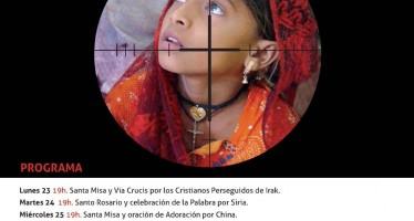 """San Cristóbal de Entreviñas organiza la """"Semana por la Iglesia Perseguida"""""""