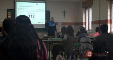 Los alumnos del colegio San Vicente de Paúl  inician el programa de seguridad vial dirigido a la ESO